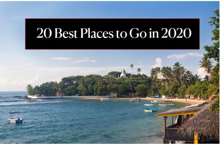 Best Places to go in 2020 Sri Lanka BEST TOP Country