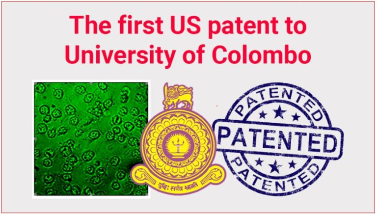 Colombo University got first USA Patent Certificate