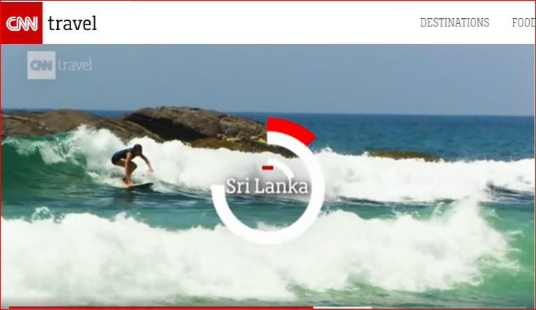 Sri Lanka listed CNN Travel's 20 places to visit in 2020