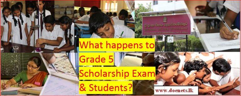 Grade 5 Scholarship Exam 2020