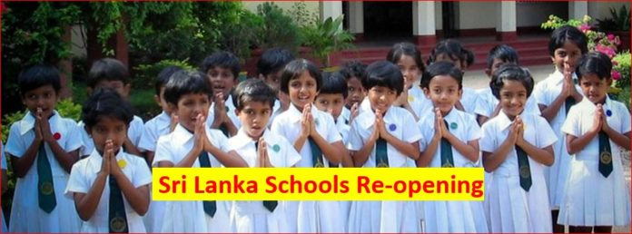 Sri Lanka Schools Re Opening Open Dates