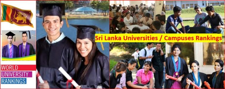 Sri Lanka new university ranking released for 2020 and 2021 year