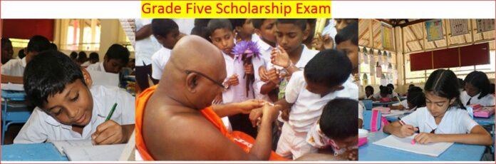 Grade Five Scholarship Examination Dates