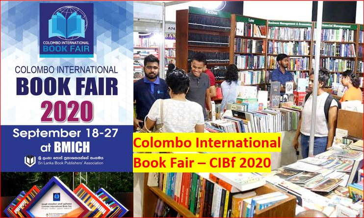 Colombo International Book Fair 2020 September 18 to 27 at BMICH Colombo Sri Lanka