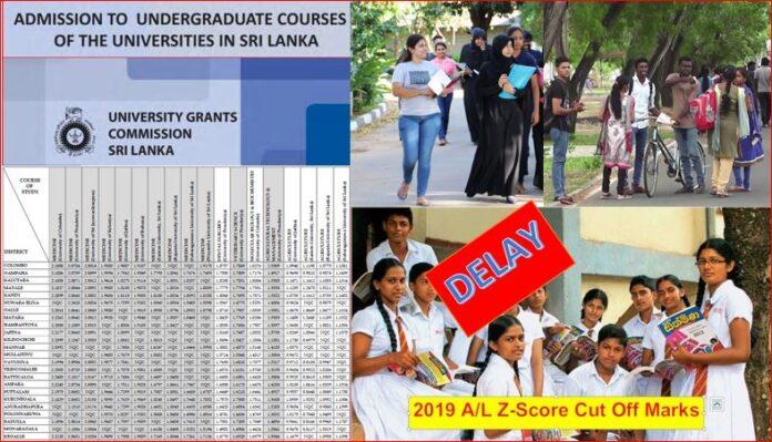 Releasing Campus Zscore cutoff marks delay October