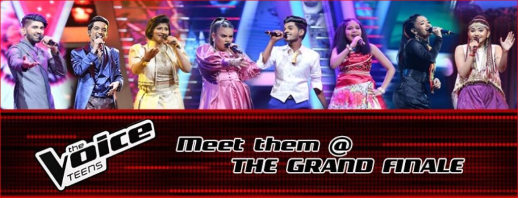 The Voice Teens Sri Lanka Grand finale August 8 & 9