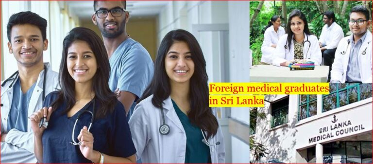 Foreign medical graduates doctors held hostage by a failed system SLMC