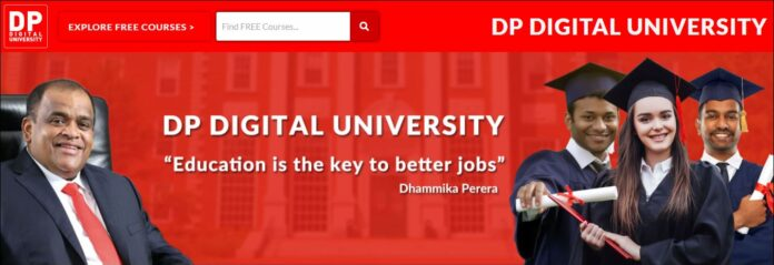 DP Digital University Campus Sri Lanka Dhammika Perera